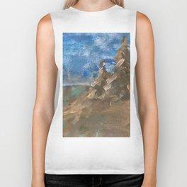 Abstract Landscape VI Biker Tank