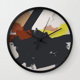 I am walking in Via della Spiga Wall Clock