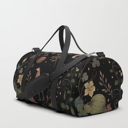 Wild Chicken with Vegetable Vines Duffle Bag