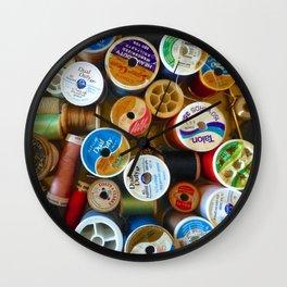 Spools Wall Clock