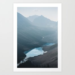 Consolation Lakes Art Print