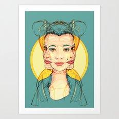 Self-conscious Art Print