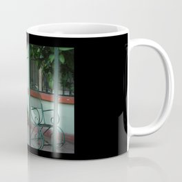Patio at Dawn, Barrio Antiguo Coffee Mug