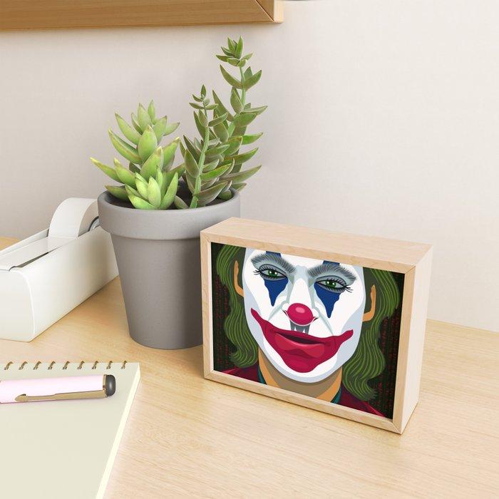 The Joker Framed Mini Art Print