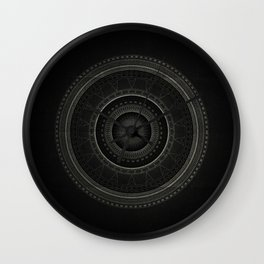 Inner Space 5 Wall Clock