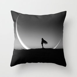 It Gives you Wings - New moon art Throw Pillow
