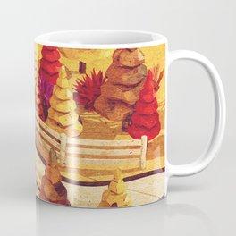 Cartoon scene in Low Poly style Coffee Mug