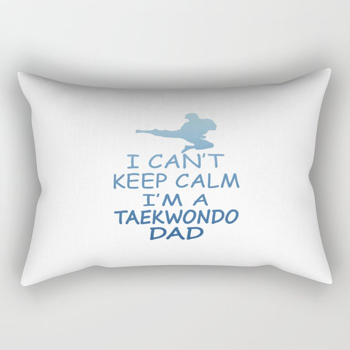 I'M A TAEKWONDO MOM Rectangular Pillow