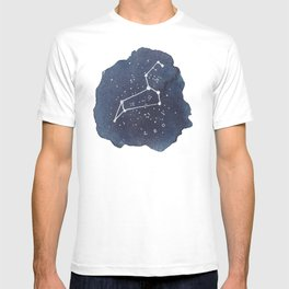 leo constellation zodiac T-shirt