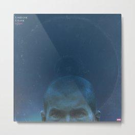 LPFC: Zinedine Zidane Metal Print