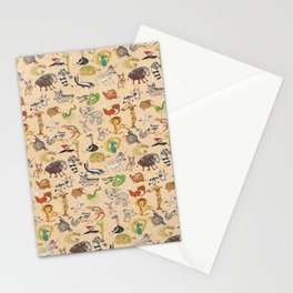 ABC Animals Stationery Cards