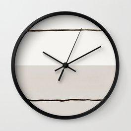 Minimal Space 03 Wall Clock