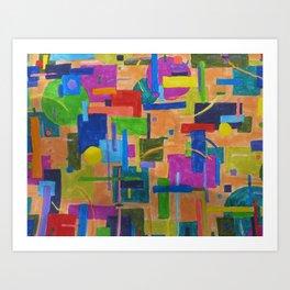 RainbowDoodles Art Print