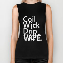 Coil Wick Drip Vape Marijuana Weed Pot Smokers husband Biker Tank
