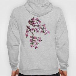 Sakura Branch Watercolor Hoody