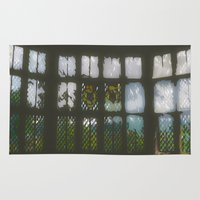 window Area & Throw Rugs featuring Window by Aaron Carberry