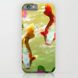 Koi Carp Fish iPhone Case