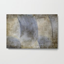 Abstract Weave Metal Print
