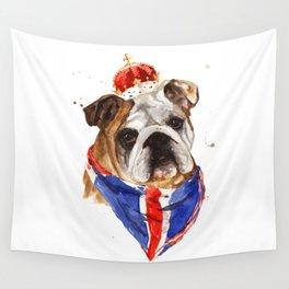 British Bulldog Wall Tapestry