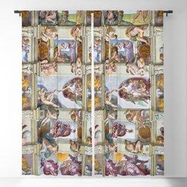 """Michelangelo """"Sistine Chapel ceiling"""", Blackout Curtain"""