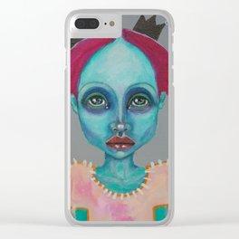 Demokrit`s girl Clear iPhone Case