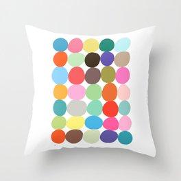 Big Bright Spots Throw Pillow