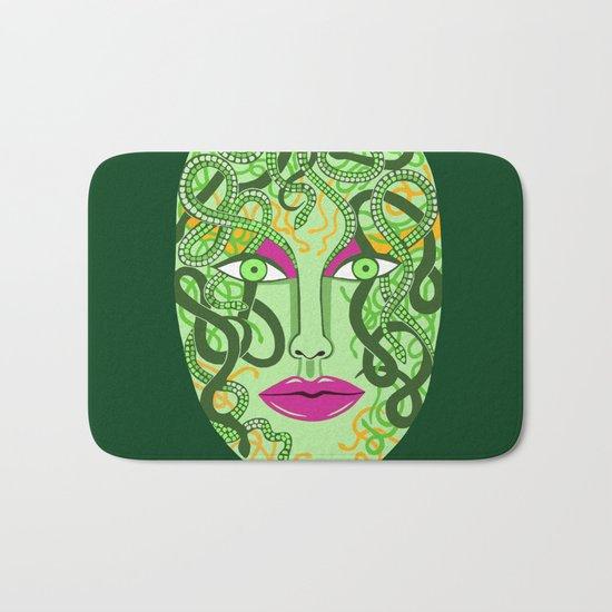 green visage Bath Mat
