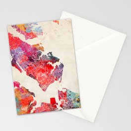 Newport News Virginia painting 2 Stationery Cards