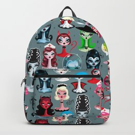 Spooky Dolls Backpack