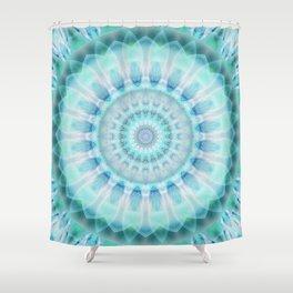 Spiritual purity Shower Curtain