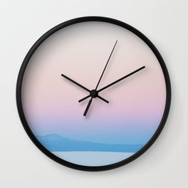 Desert Sunrise Vibes Wall Clock
