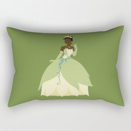 Tiana from Princess and the Frog Rectangular Pillow