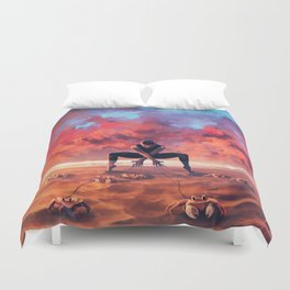 CANCER from the Dancing Zodiac Duvet Cover