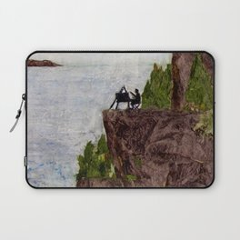 Painting on the Edge Laptop Sleeve