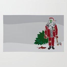 Zombie (Santa) Claus Rug