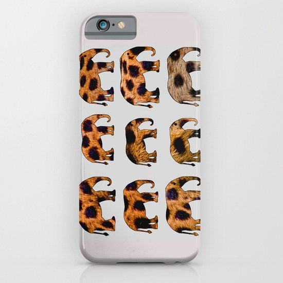 CHEETAH ELEPHANTS iPhone & iPod Case