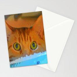 Sir Watson Tabby Digital Cat Stationery Cards