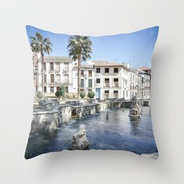 Priego de Cordoba Throw Pillow