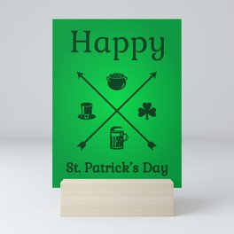 Happy St. Patrick's Day I Mini Art Print