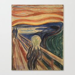 "Edvard Munch ""The Scream"", 1910 Canvas Print"