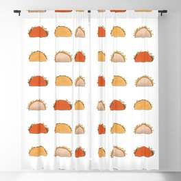 Cheesy Cronch Gordita Blackout Curtain