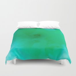 Textures (Green version) Duvet Cover