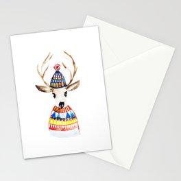 Cute deer Stationery Cards