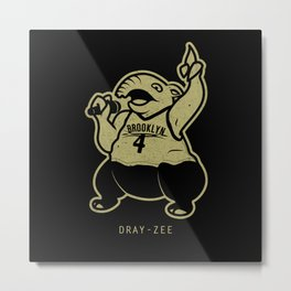 PokéRappers: Dray-Zee Metal Print
