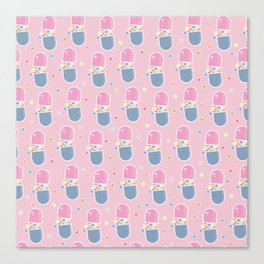 Spill Pill Canvas Print