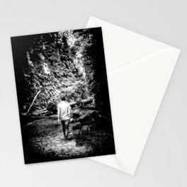 Walking towards life Stationery Cards