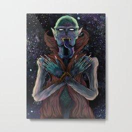 Neon Nyctophilia Metal Print