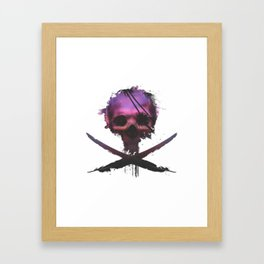 Purple Death Framed Art Print
