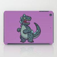 godzilla iPad Cases featuring Godzilla by lisanaffziger