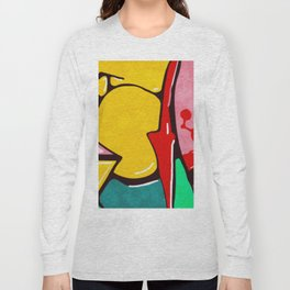 In the street No3 Long Sleeve T-shirt